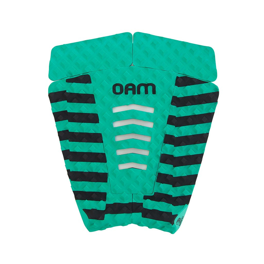 OAM On A Mission Crooked Series Surf Traction Pad Emerald