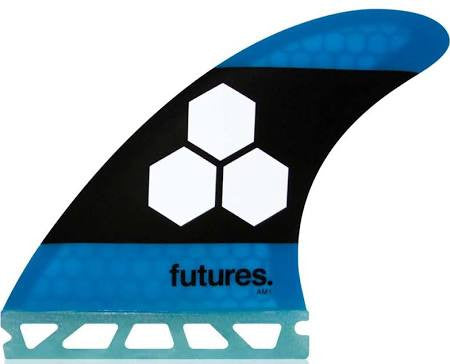 Future Fins AM1 Honeycomb Thruster Fin Set Blue/Black