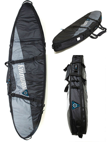 Komunity Project Double Lightweight Traveler Surfboard Bag - DriftingThru.com