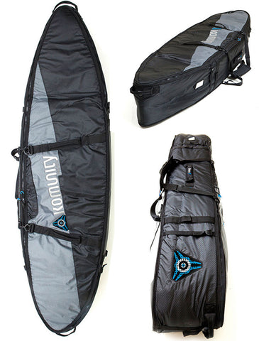 Komunity Project Triple/Quad Lightweight Traveler Surfboard Bag DriftingThru.com
