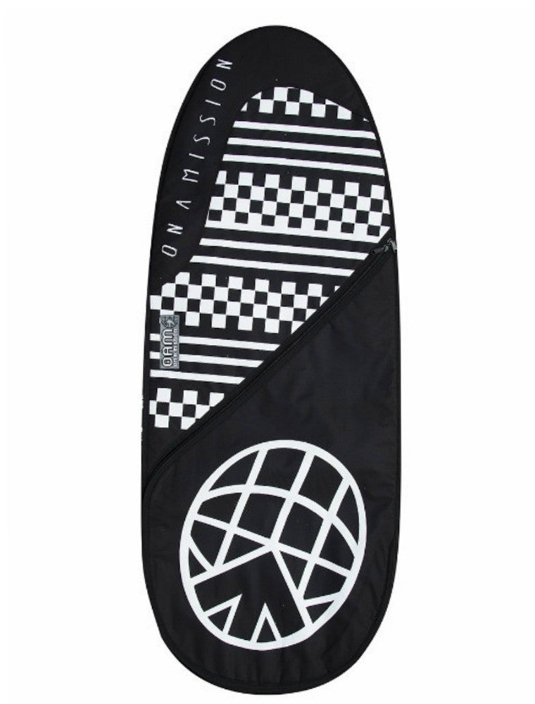 "OAM On A Mission 5'6"" Fish Mission Surfboard Bag Black / White Check"