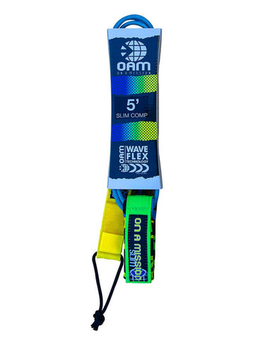 OAM On A Mission 5' Slim Comp Surf Leash Giraffe