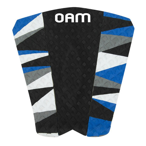 OAM On A Mission Alejandro Moreda Broken Series Surf Traction Pad Blue