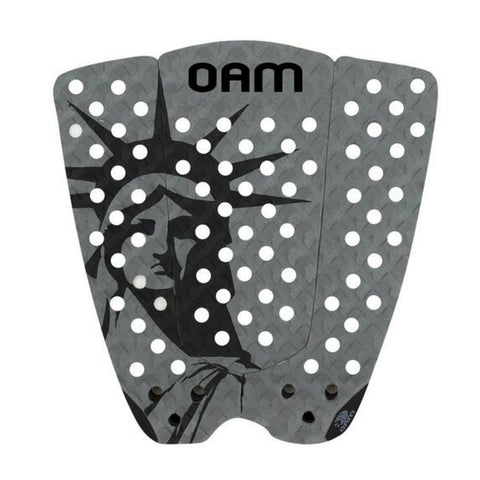 OAM On A Mission Balaram Stack Gray Liberty Series Surf Traction Pad 2016