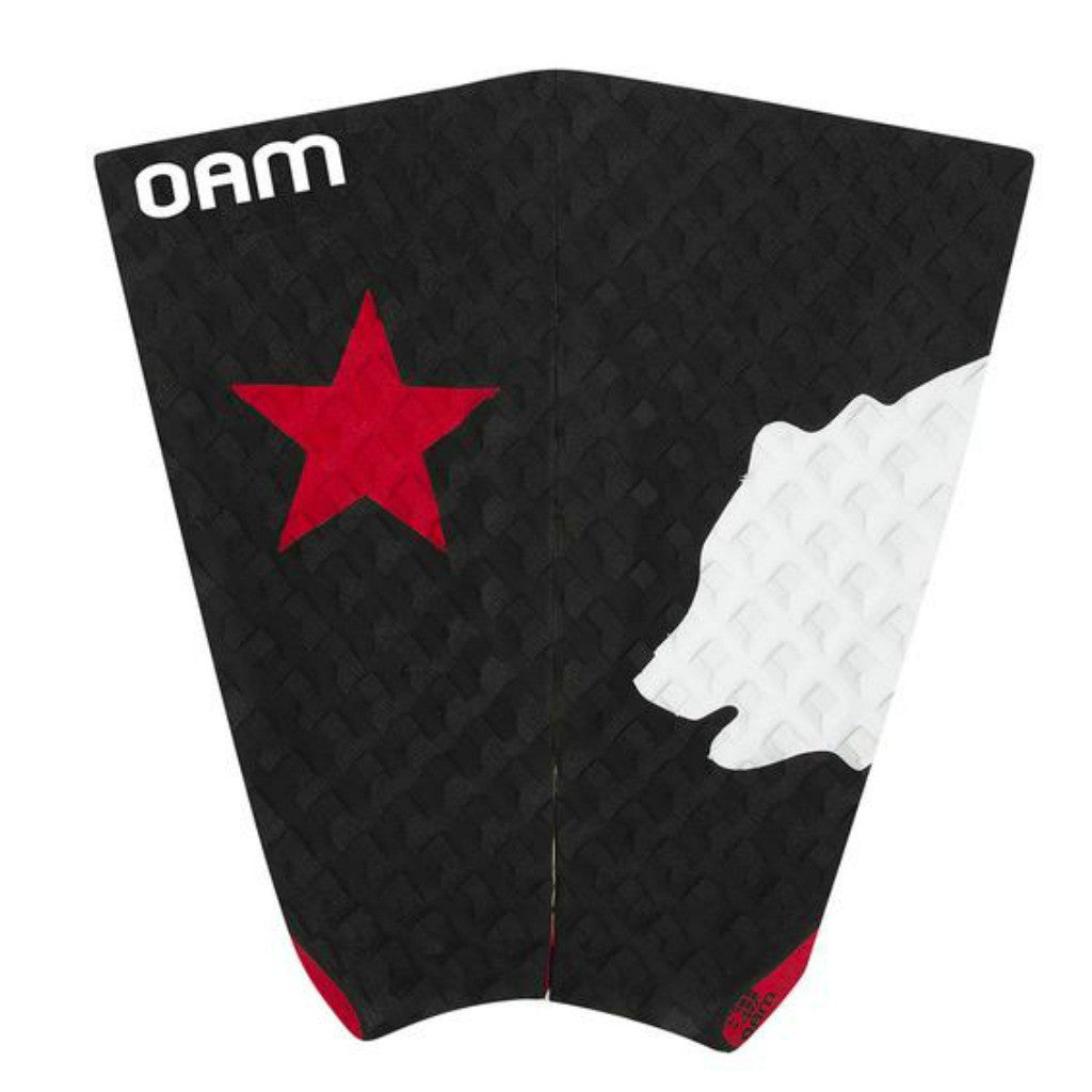 OAM On A Mission Benji Weatherly Freedom Series Surf Traction Pad Black
