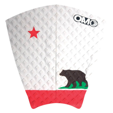 OAM On A Mission Benji Weatherly Freedom Series Surf Traction Pad CA White