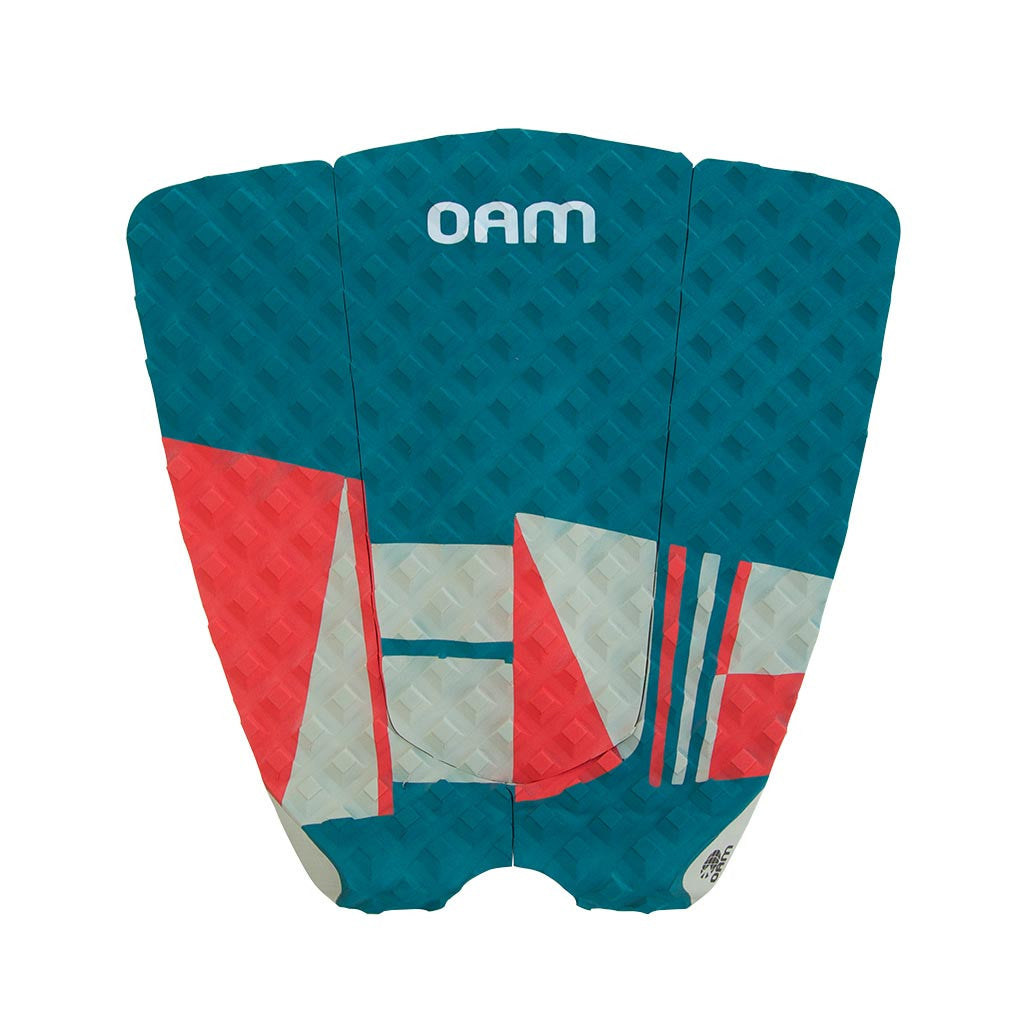 OAM On A Mission Future Series Surf Traction Pad Dark Teal