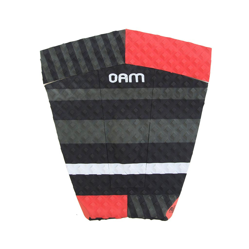 OAM On A Mission Taylor Jensen Retro Series Longboard Surf Traction Pad Red