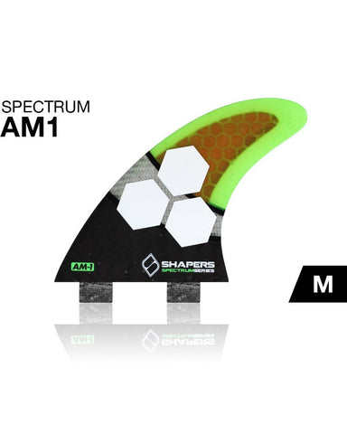 Shapers Fins AM1 Spectrum FCS Thruster Fin Set