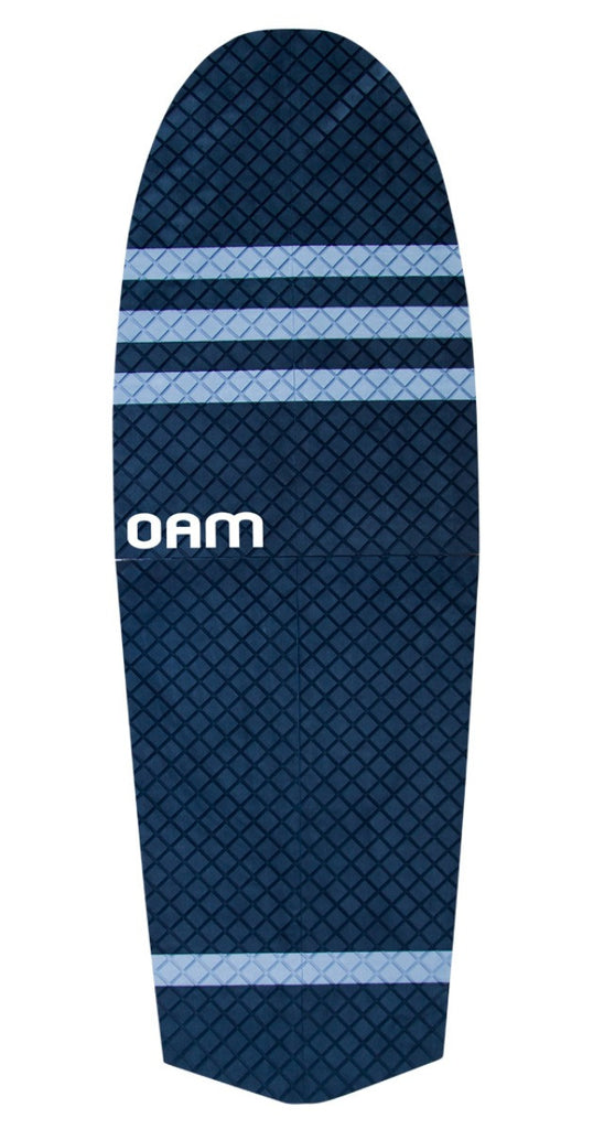 OAM On A Mission Speed SUP Traction Pad Slater Trout Black and Grey