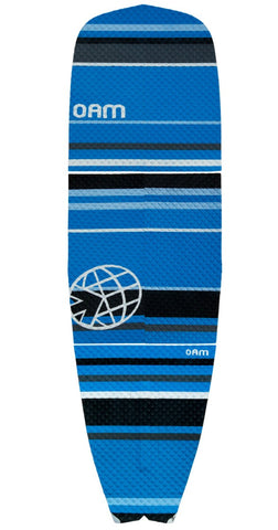 OAM On A Mission Signature Collection SUP Traction Pad Slater Trout Blue Stripe