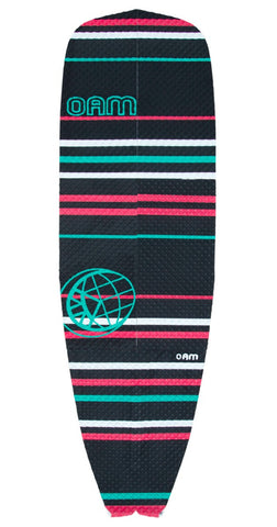 OAM On A Mission Signature Collection SUP Traction Pad Slater Trout Red Stripe