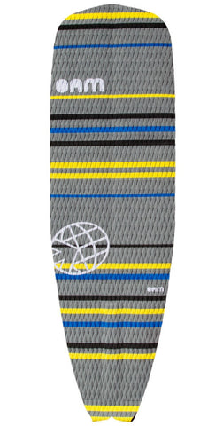 OAM On A Mission Signature Collection SUP Traction Pad Slater Trout Yellow Stripe