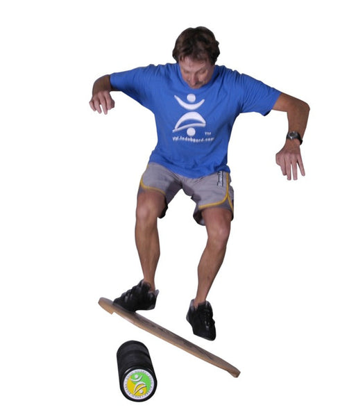 Indo Board Original with Roller - Yin Yang Design Balance Trainer