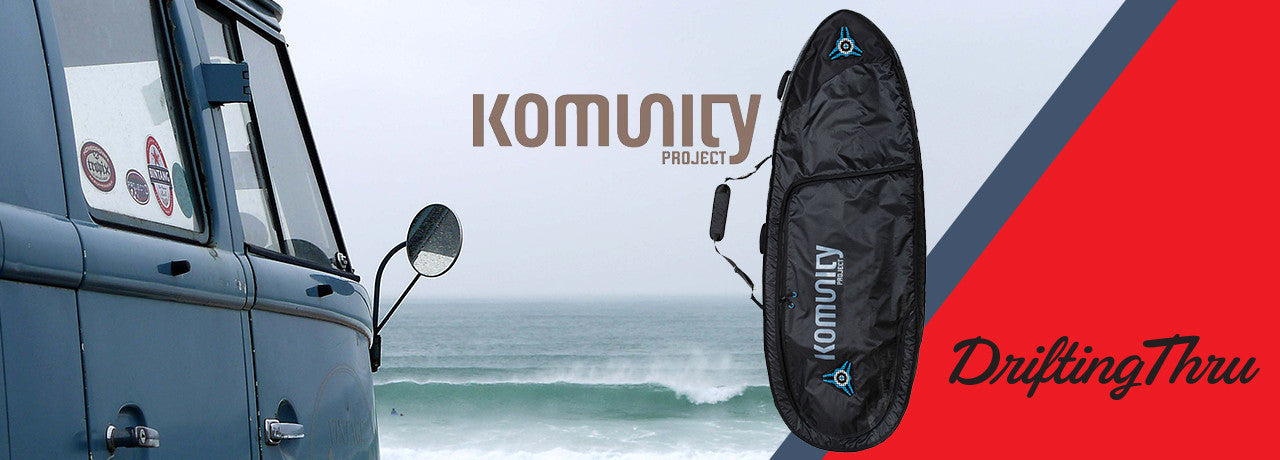 Komuinity Project Board bags at DriftingThru