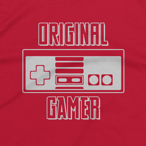 Red Original Gamer Tee