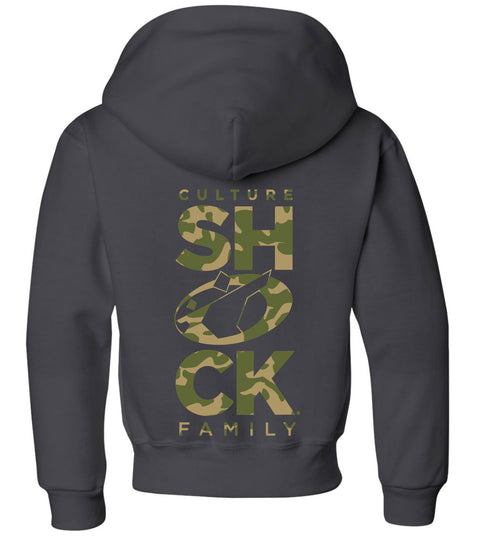cs fam pullover hoodie youth