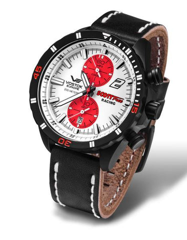 vostok europe scott free diver watch boat racing