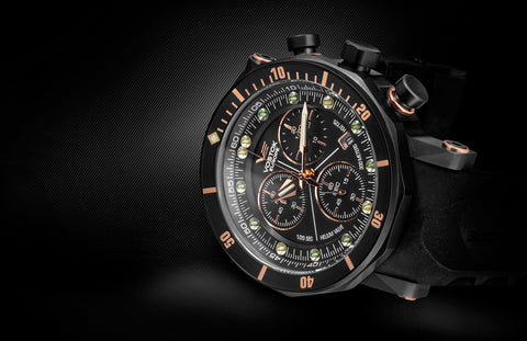 Vostok-Europe Lunokhod 2 Divers Watch with Tritium Tubes