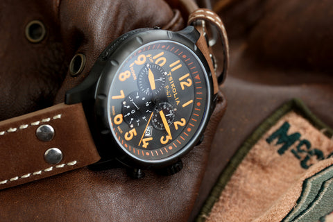 Tsikolia P-47 Swiss Chronograph Watch