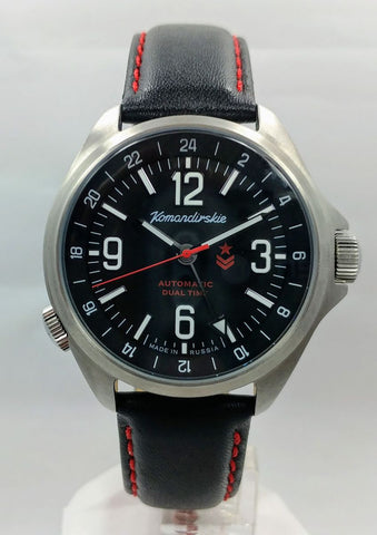 Vostok Komandirskie K-34 Automatic Watch 2426.01/470612 - Russia2all