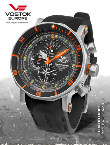 Vostok Europe Lunokhod 2 YM86/620A506 - Russia2all