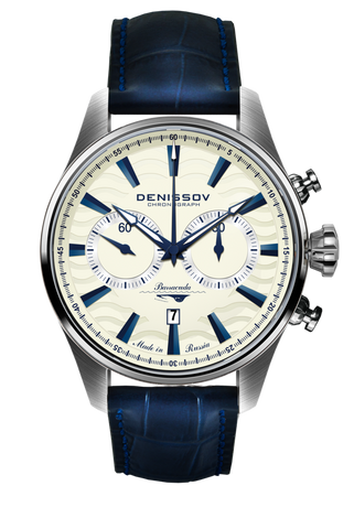 Denissov Barracuda Mechanical Chronograph 3133.1026.W.B1 - Russia2all