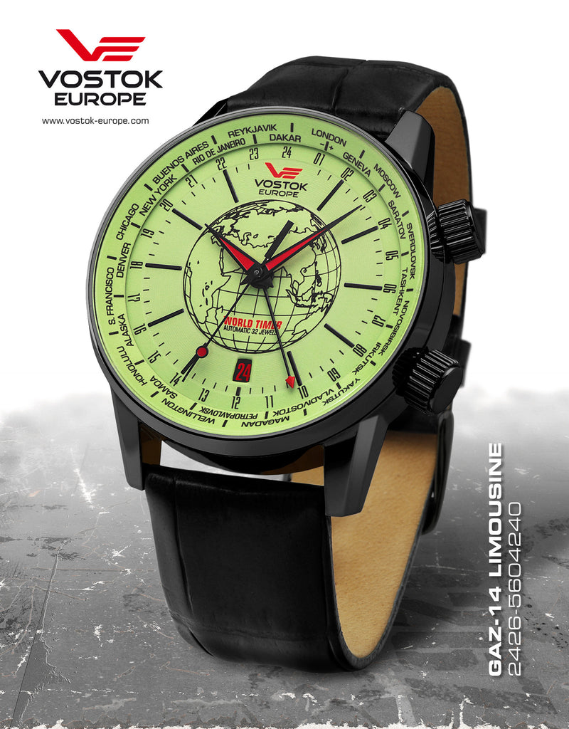 Vostok-Europe Gaz-Limo Watch 2426/5604240 - 1