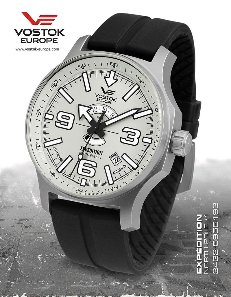 Vostok-Europe Expedition North Pole  - 1 Watch (2432/5955192S) - Russia2all