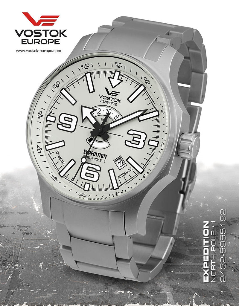 Vostok-Europe Expedition North Pole - 1 Watch (2432/5955192B) - Russia2all