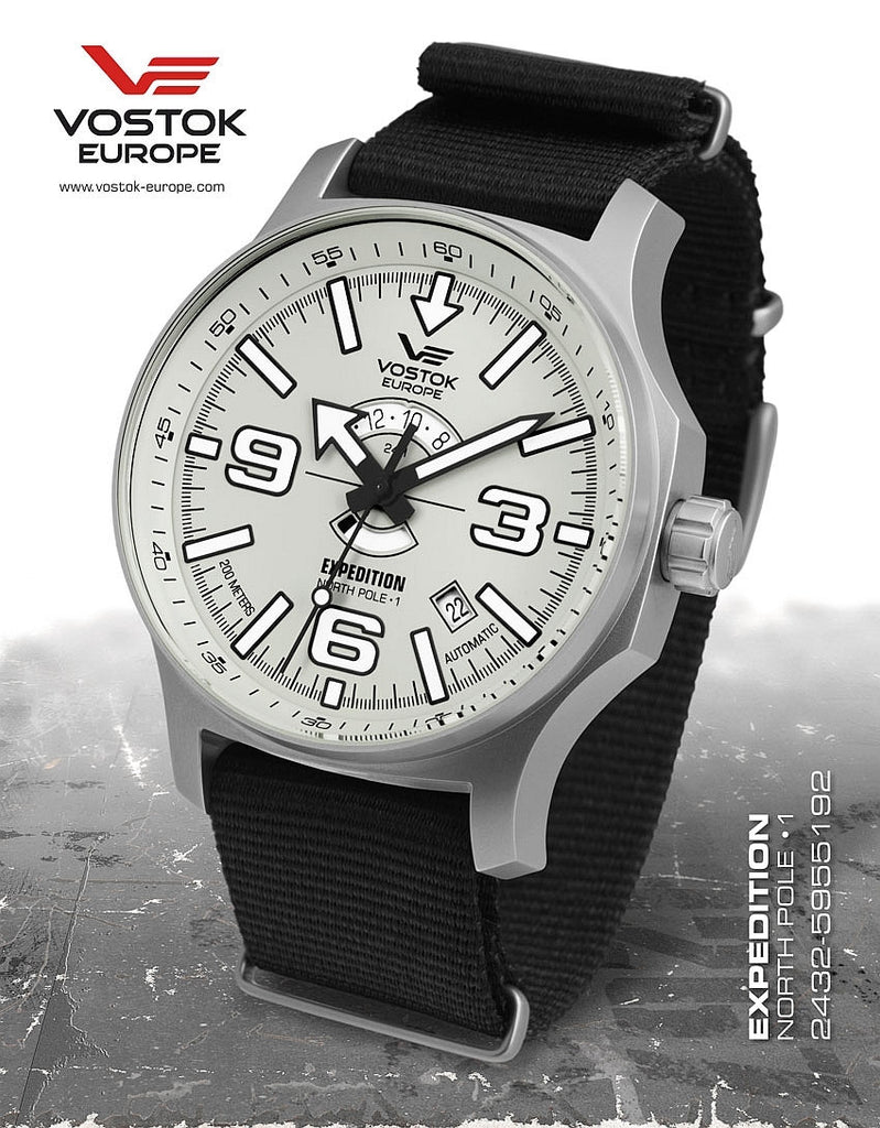 Vostok-Europe Expedition North Pole - 1 Watch (2432/5955192N) - Russia2all