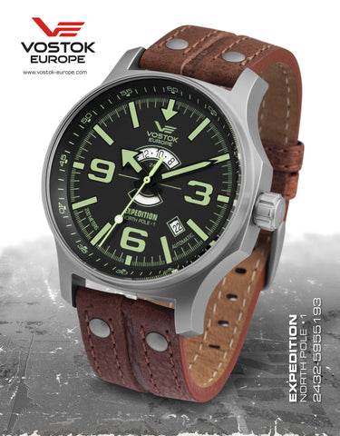 Vostok-Europe Expedition North Pole - 1 Watch (2432/5955193) - Russia2all