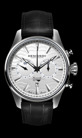 Denissov Barracuda Mechanical Chronograph Watch 3133.1026.S.B12 - Russia2all