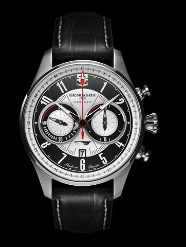 Denissov Barracuda Mechanical Chronograph Limited Edition Watch 3133.1026.S.B29 - Russia2all