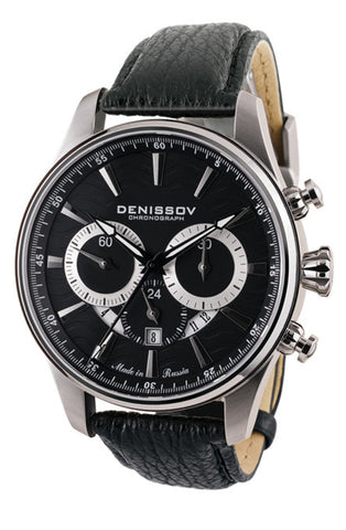 Denissov Barracuda Mechanical Chronograph Watch 31681.1026.B.B13 - Russia2all
