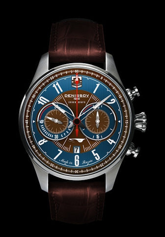 Denissov Barracuda Mechanical Chronograph Limited Edition Watch 3133.1026.R.B28 - Russia2all