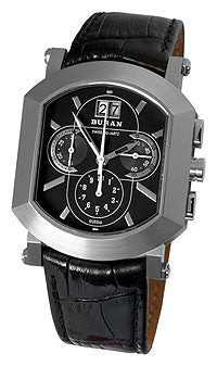 Buran Swiss Ronda Chronograph Watch 5040B/0871411 - Russia2all