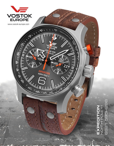 Vostok-Europe Expedition North Pole - 1 Watch Titanium (6S21/595H298)