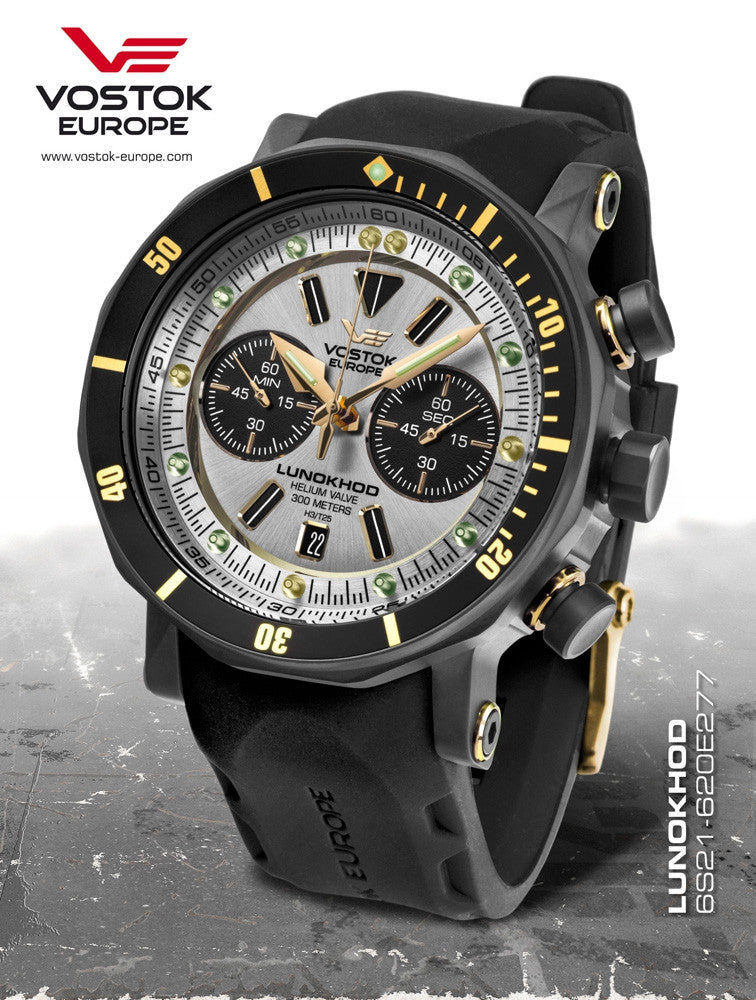 Vostok Europe Lunokhod 2 Grand Chrono 6S21/620E277