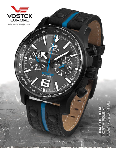 Vostok-Europe Expedition North Pole - 1 Watch (6S21/5954198) 2 Straps - 1