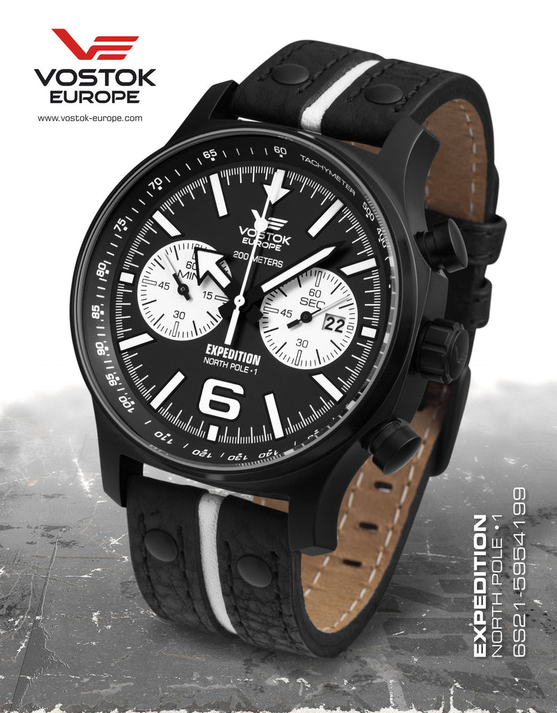 Vostok-Europe Expedition North Pole - 1 Watch (6S21/5954199) - Russia2all