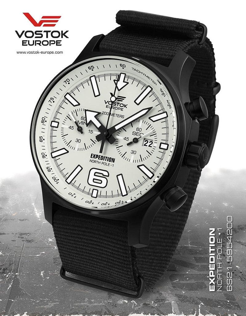 Vostok-Europe Expedition North Pole - 1 Watch (6S21/5954200N) - Russia2all
