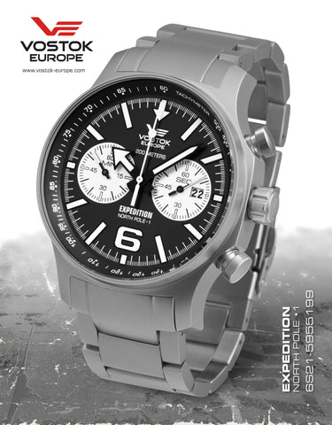Vostok-Europe Expedition North Pole - 1 Watch (6S21/5955199B) - Russia2all