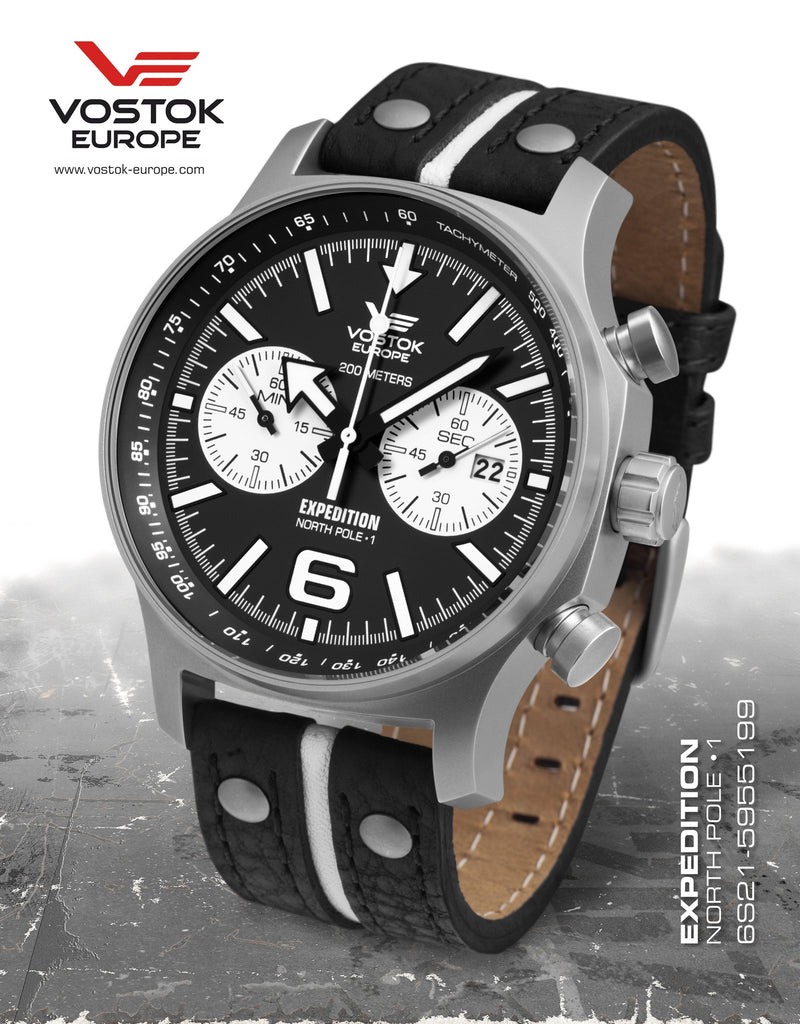 Vostok-Europe Expedition North Pole - 1 Watch (6S21/5955199) - Russia2all