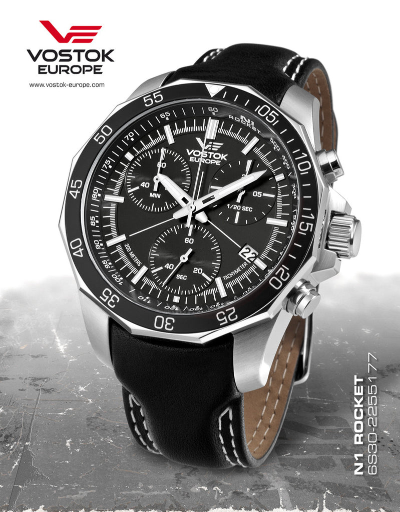 Vostok-Europe N1 Rocket Russian Watch 6S30/2255177 - 1