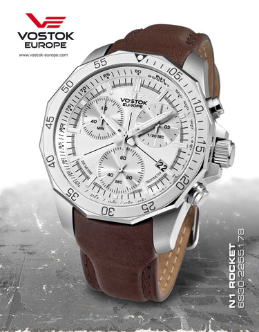 Vostok-Europe N1 Rocket Chronogrph Watch 6S30/2255178 - 1