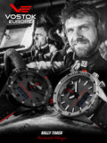 Vostok-Europe Dakar Rally Timer Swiss Movt Watch 9516R/320J371 - Russia2all