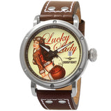 Dogfight Pinup World War II Vintage Style Watch DF0041