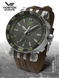 Vostok-Europe NH35-575H284-Energia-with-Brown-Silicon-strap