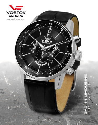 Vostok-Europe Gaz-Limo Quartz Chronograph Watch OS22/5611297